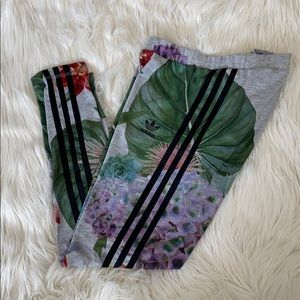 ADIDAS palm tropic three strips leggings